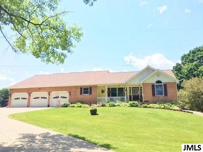 Single Family Home For Sale: 8430 Rives Junction Rd