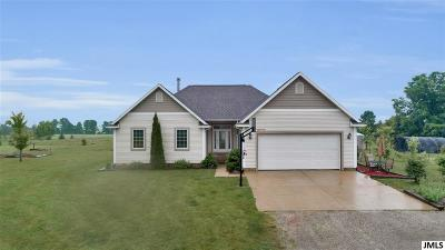 Clayton MI Single Family Home For Sale: $265,000