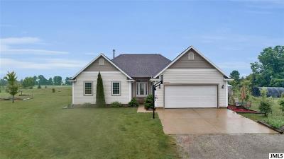 Clayton MI Single Family Home For Sale: $275,000