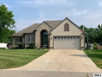 Spring Arbor Single Family Home For Sale: 116 Remington Dr