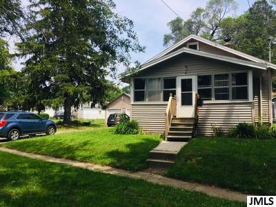 Jackson Single Family Home For Sale: 2815 Overhill Rd