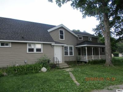 Jackson Single Family Home For Sale: 3028 Kibby Rd