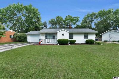 Jackson Single Family Home For Sale: 1270 E Southfield Dr
