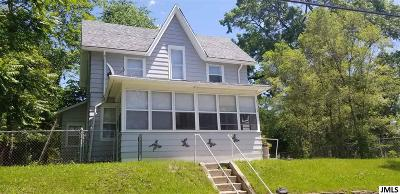 Jackson Single Family Home For Sale: 1117 Williams St