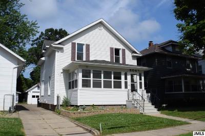 Jackson Single Family Home For Sale: 504 Orange St