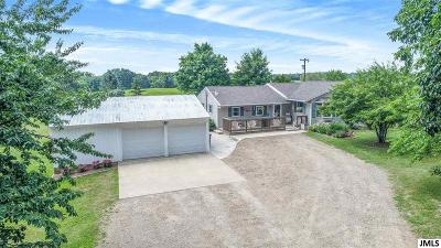 Springport Single Family Home For Sale: 14245 Saxon Rd