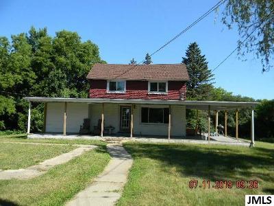 Single Family Home For Sale: 4202 Ann Arbor Rd