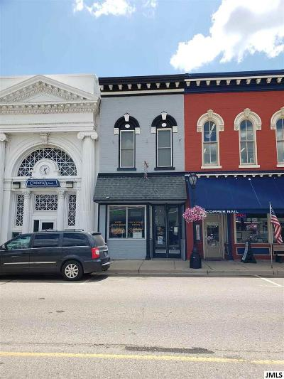 Grass Lake Commercial/Industrial For Sale: 113 E Michigan Ave