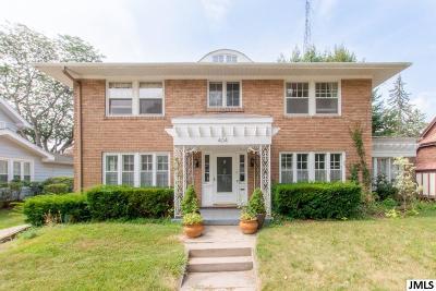 Jackson MI Single Family Home For Sale: $184,900