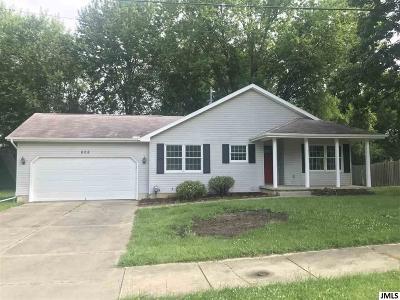 Single Family Home For Sale: 608 E Bellevue