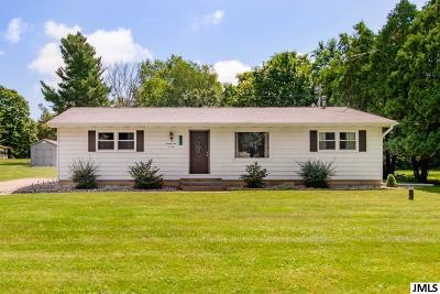 Jackson Single Family Home For Sale: 7101 Browns Lake Rd