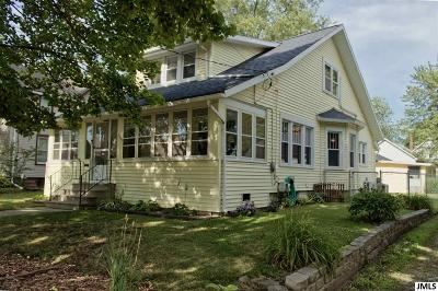 Jackson Single Family Home For Sale: 229 N Durand St