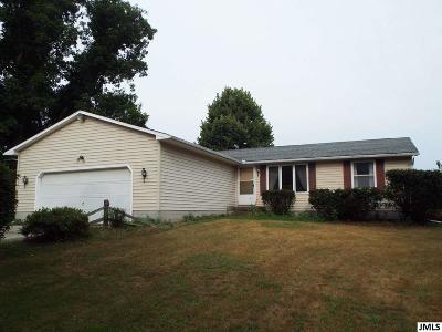 Leslie Single Family Home For Sale: 3580 Edgar Rd