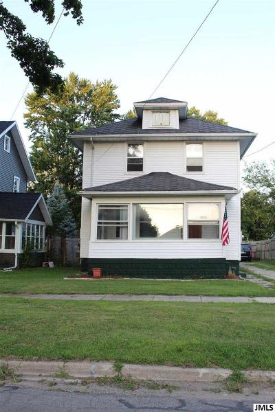 Jackson Single Family Home For Sale: 227 N Webster St