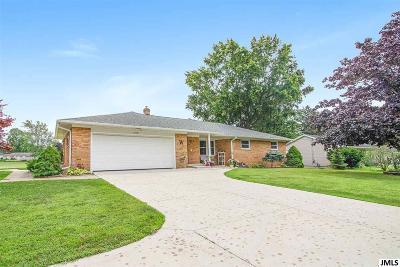 Jackson Single Family Home For Sale: 1695 Springport Rd