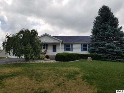 Somerset MI Single Family Home For Sale: $154,900