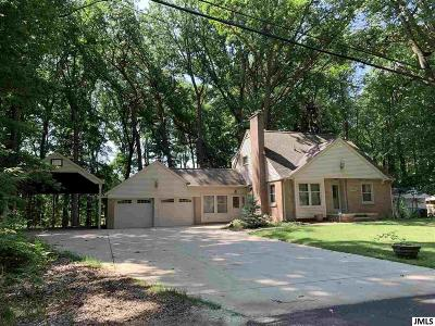 Jackson MI Single Family Home Contingent - Financing: $178,000