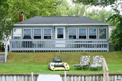 Single Family Home For Sale: 614 Swains Lake Dr