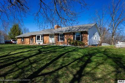 Onondaga MI Single Family Home For Sale: $355,000
