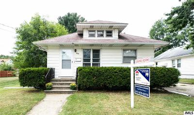 Jackson MI Single Family Home Contingent - Financing: $79,900