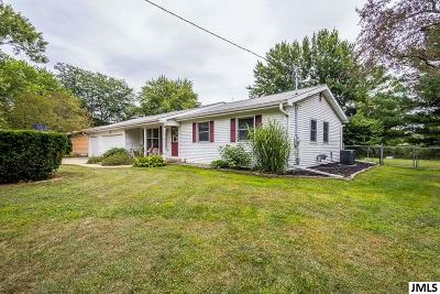 Jackson MI Single Family Home Contingent - Financing: $159,900