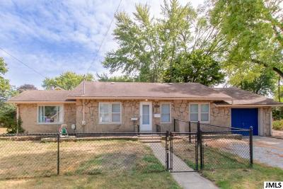 Jackson Single Family Home For Sale: 2415 Overhill Rd