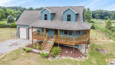 Munith MI Single Family Home For Sale: $224,900