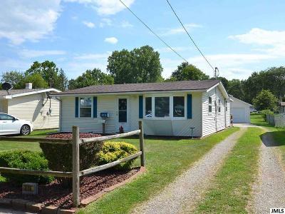Jackson MI Single Family Home For Sale: $77,500