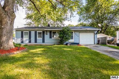 Jackson MI Single Family Home For Sale: $132,000