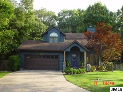 Jackson Single Family Home For Sale: 5936 Bradford