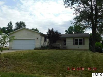 Single Family Home For Sale: 11259 Hillview Dr