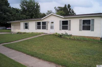Michigan Center Single Family Home For Sale: 801 Napoleon Rd