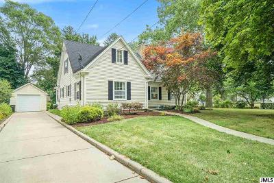 Jackson Single Family Home For Sale: 811 S Webster St