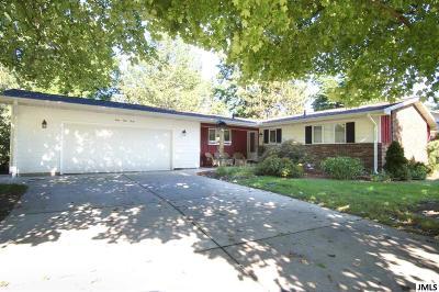 Jackson MI Single Family Home For Sale: $225,000