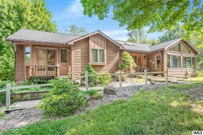 Single Family Home For Sale: 12640 Horning Rd