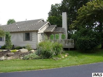 Jackson Condo/Townhouse For Sale: 4293 Fairway Ln