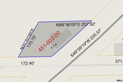 Jackson Commercial Lots & Land For Sale: 9372 Bunkerhill Rd