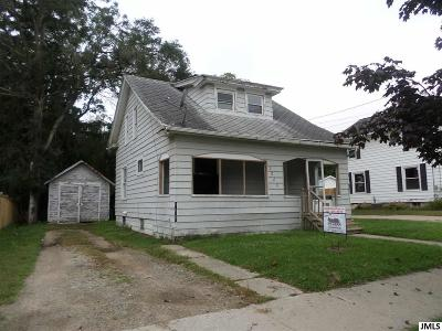 Jackson Single Family Home For Sale: 2008 S Jackson St