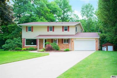 Jackson Single Family Home For Sale: 3160 Happy Valley Rd