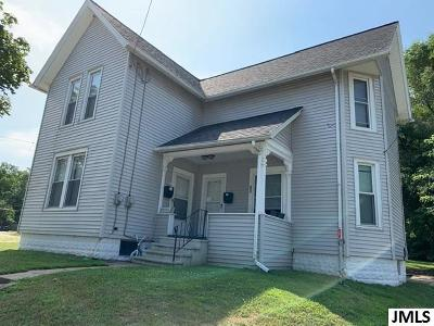 Jackson MI Multi Family Home For Sale: $93,000