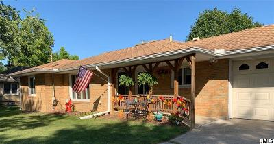 Jackson Single Family Home For Sale: 1207 S Wisner St
