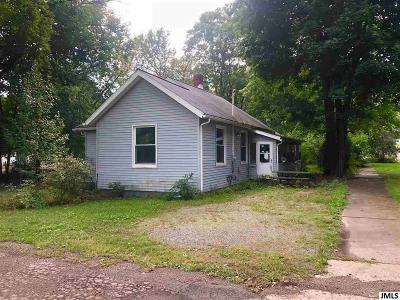 Jackson Single Family Home For Sale: 727 John St