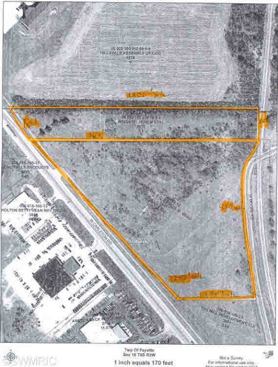 Hillsdale MI Residential Lots & Land For Sale: $710,550