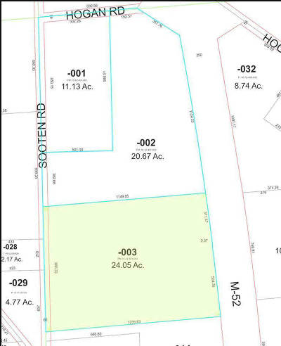 Manchester MI Residential Lots & Land For Sale: $240,500