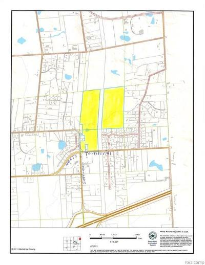 Plymouth MI Residential Lots & Land For Sale: $5,250,000