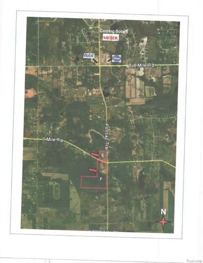 South Lyon MI Residential Lots & Land For Sale: $289,900