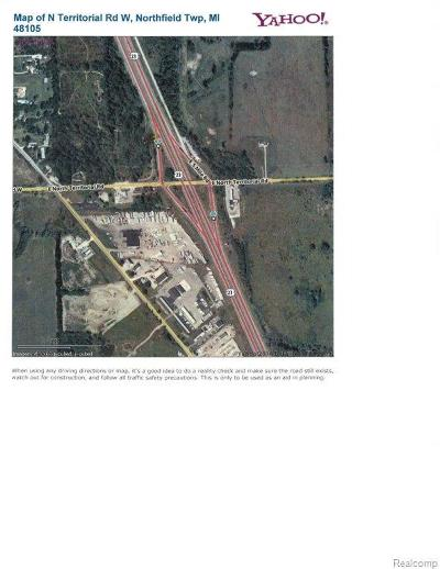 Whitmore Lake MI Residential Lots & Land For Sale: $7,200,000