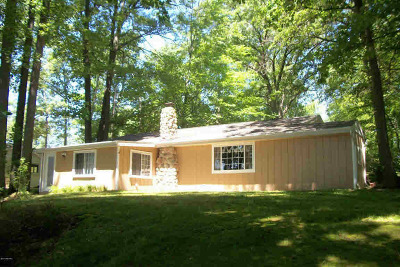 Reading MI Single Family Home For Sale: $109,900