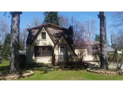 Wixom Single Family Home For Sale: 2238 Lyonia Ave