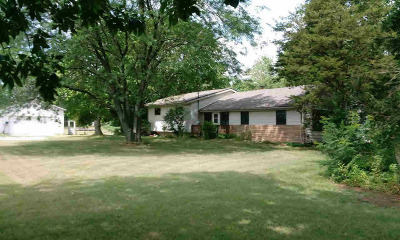 Hillsdale County Single Family Home For Sale: 6300 E Mosherville Rd